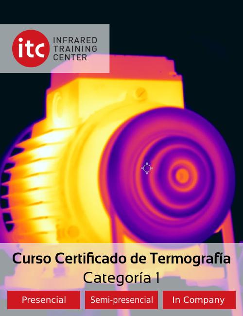 Curso Certificado ITC Categoria 1, Apliter Termografia