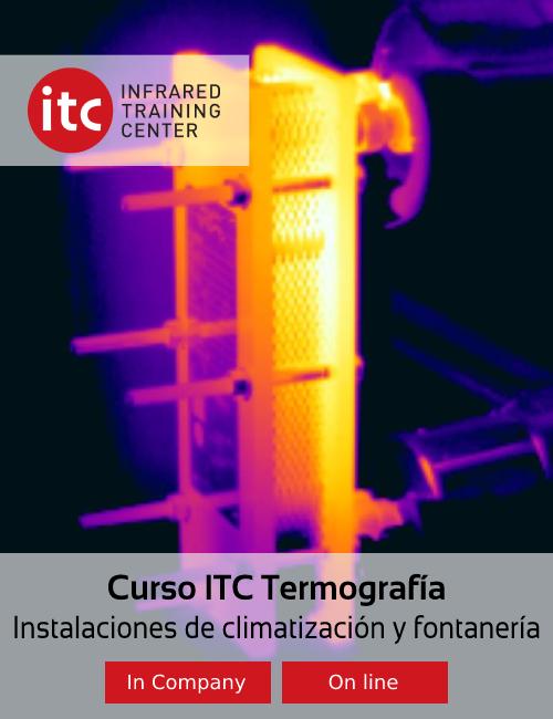 Curso ITC Termografía Instalaciones de climatización y fontanería, Apliter Termografia